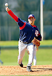 6 March 2006: Saul Rivera, pitcher for the Washington Nationals, on the mound during a Spring Training game against the Los Angeles Dodgers. The Nationals and Dodgers played to a scoreless tie at Holeman Stadium, in Vero Beach Florida...Mandatory Photo Credit: Ed Wolfstein..