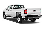 Car pictures of rear three quarter view of 2018 GMC Sierra-2500HD 2WD-Double-Cab-Long-Box 4 Door Pick-up Angular Rear