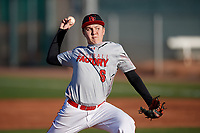 Collin Lee during the Under Armour All-America Pre-Season Tournament, powered by Baseball Factory, on January 19, 2019 at Sloan Park in Mesa, Arizona.  Collin Lee is a second baseman / right handed pitcher from Apple Valley, California who attends Oak Hills High School.  (Mike Janes/Four Seam Images)