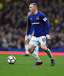 Wayne Rooney of Everton during the premier league match at Goodison Park Stadium, Liverpool. Picture date 7th April 2018. Picture credit should read: Robin Parker/Sportimage