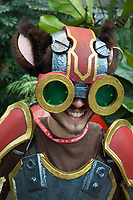 Ziggs of League of Legends by Skrie Cosplay, Pax Prime 2015, Seattle, Washington State, WA, America, USA.