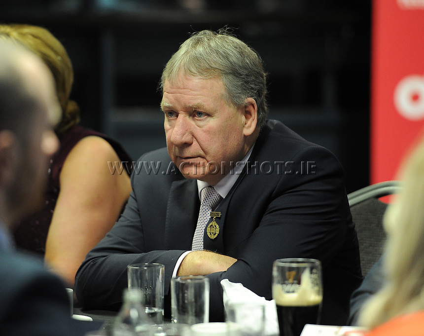 03/02/2018; GAA Handball All-Stars Awards 2018; Croke Park, Dublin;<br /> GAA Handball President Joe Masterson<br /> Photo Credit: actionshots.ie/Tommy Grealy