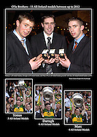 The O&quot;Se brothers, Tomas, Darragh and Marc winners of 15 All-Ireland medals (as of 2013).<br /> Picture: -macmonagle archive<br /> e: info@macmonagle.com