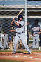 Detroit Tigers Jarrod Saltalamacchia (31) during a Minor League Spring Training intrasquad game on March 24, 2018 at the TigerTown Complex in Lakeland, Florida.  (Mike Janes/Four Seam Images)