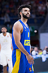 Elijah Bryant during Real Madrid vs Maccabi Fox of Day 2 of Euroleague Basketball. October 10, 2019. (ALTERPHOTOS/Francis Gonzalez)
