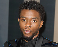 Chadwick Boseman at the Black Panther European Premiere at the Eventim Apollo, Hammersmith, London on Thursday 8th February 2018<br /> CAP/ROS<br /> CAP/ROS<br /> &copy;ROS/Capital Pictures