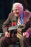 Buckey Pizzarelli leads the Statesmen of Jazz at the Highlights in Jazz concert in New York.