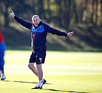 Mark Warburton back to work at Rangers after the international break