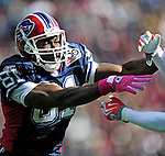 11 October 2009: Buffalo Bills' wide receiver Terrell Owens in action during a game against the Cleveland Browns at Ralph Wilson Stadium in Orchard Park, New York. The Browns defeated the Bills 6-3 for Cleveland's first win of the season...Mandatory Photo Credit: Ed Wolfstein Photo
