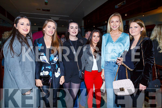 : <br /> <br /> <br /> <br /> Attending the Na Gael Play by Na Gael Players &quot;One Murder &amp; A Christening &quot; at Na Gael GAA Club Tralee on Saturday. Dearbhail O'Donnell,Kate O'Connell,Rachel O'Neill,Aisling Kennedy,Nicola Keoghane and Aoife Walsh