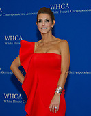 Anchor of MSNBC Live Stephanie Ruhle arrives for the 2017 White House Correspondents Association Annual Dinner at the Washington Hilton Hotel on Saturday, April 29, 2017.<br /> Credit: Ron Sachs / CNP