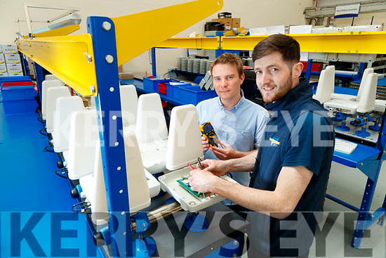 Shane Burns (Design Engineer) and Jamie Heffernan (Production), Dairymaster, Causeway.