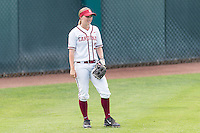 STANFORD, CA - May 14, 2016: The Stanford Cardinal vs the Washington Huskies in softball at Boyd & Jill Smith Family Stadium in Stanford, California. Final score, Stanford 5, Washington 10.