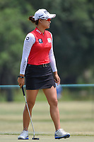 Minjee Lee (AUS) after barely missing her birdie putt during round 4 of the 2019 US Women's Open, Charleston Country Club, Charleston, South Carolina,  USA. 6/2/2019.<br /> Picture: Golffile | Ken Murray<br /> <br /> All photo usage must carry mandatory copyright credit (© Golffile | Ken Murray)