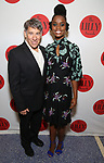 Stephen Schwartz and Denee Benton attends the The Lilly Awards  at Playwrights Horizons on May 22, 2017 in New York City.