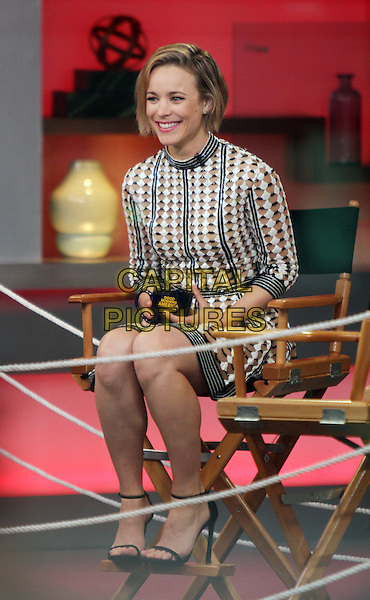 NEW YORK, NY - JULY 23: Rachel McAdams at Good Morning America promoting her new movie Southpaw in New York City on July 23, 2015. <br /> CAP/MPI/RW<br /> &copy;RW/ MediaPunch/Capital Picture