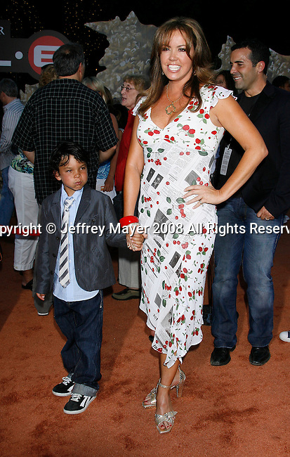 Actress Mary Murphy arrive at the Disney-Pixar's WALL-E Premiere on June 21, 2008 at Greek Theatre in Los Angeles, California.