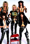 Warrant Studio Session, Jani Warrant, Jerry Dixon, Steven Sweet, Joey Allen, Erik Turner of Warrant