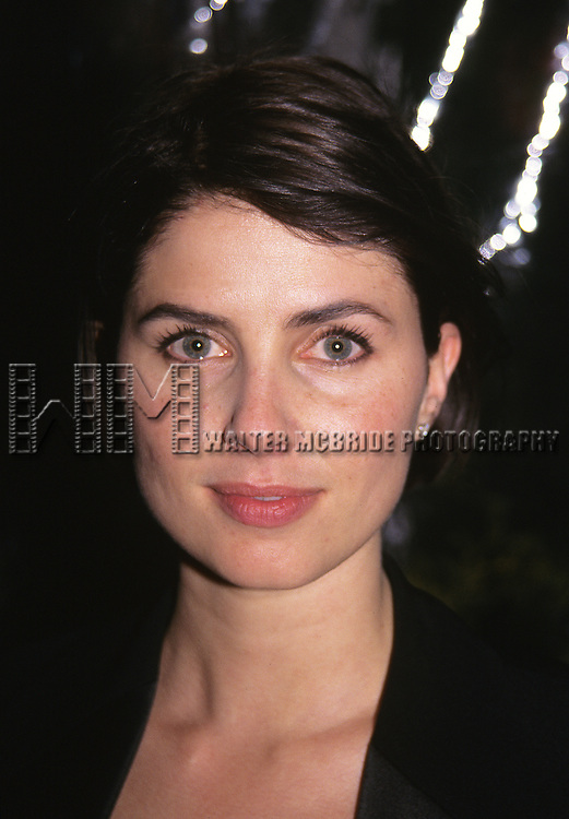 Sadie Frost attends the Broadway Opening Night debut in 'Indescretions' at the Barrymore Theatre in New York City on 4/27/95.