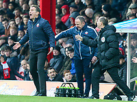 Bolton Wanderers manager Phil Parkinson shouts instructions to his team from the technical area<br /> <br /> Photographer Alex Dodd/CameraSport<br /> <br /> The EFL Sky Bet Championship - Brentford v Bolton Wanderers - Saturday 13th January 2018 - Griffin Park - Brentford<br /> <br /> World Copyright &copy; 2018 CameraSport. All rights reserved. 43 Linden Ave. Countesthorpe. Leicester. England. LE8 5PG - Tel: +44 (0) 116 277 4147 - admin@camerasport.com - www.camerasport.com