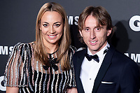 Luka Modric and wife Vanja Bosnic attends the 2018 GQ Men of the Year awards at the Palace Hotel in Madrid, Spain. November 22, 2018. (ALTERPHOTOS/Borja B.Hojas) /NortePhoto.com