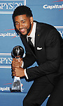 LOS ANGELES, CA - JULY 11: Christian Watford pose in the press room during the 2012 ESPY Awards at Nokia Theatre L.A. Live on July 11, 2012 in Los Angeles, California.