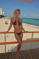 www.acepixs.com<br /> <br /> February 7 2017, Miami, Fl<br /> <br /> Model Selena Weber enjoys some winter sun on the beach on February 7 2017 in Miami Beach, Fl<br /> <br /> By Line: Solar/ACE Pictures<br /> <br /> ACE Pictures Inc<br /> Tel: 6467670430<br /> Email: info@acepixs.com<br /> www.acepixs.com
