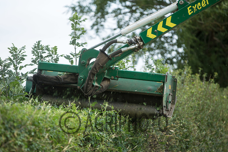 Hedge cutting <br /> Picture Tim Scrivener 07850 303986<br /> &hellip;.covering agriculture in the UK&hellip;.