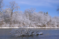 Thames River, London, Ontario After Ice Storm