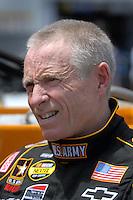 May 4, 2007; Richmond, VA, USA; Nascar Nextel Cup Series driver Mark Martin (01) during practice for the Jim Stewart 400 at Richmond International Raceway. Mandatory Credit: Mark J. Rebilas