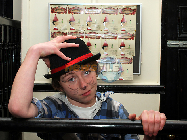 Calem Martin who plays the Fox at the Pinocchio Play in The Little Duke Theatre...(Photo credit should read Jenny Matthews www.newsfile.ie)....This Picture has been sent you under the conditions enclosed by:.Newsfile Ltd..The Studio,.Millmount Abbey,.Drogheda,.Co Meath..Ireland..Tel: +353(0)41-9871240.Fax: +353(0)41-9871260.GSM: +353(0)86-2500958.email: pictures@newsfile.ie.www.newsfile.ie.