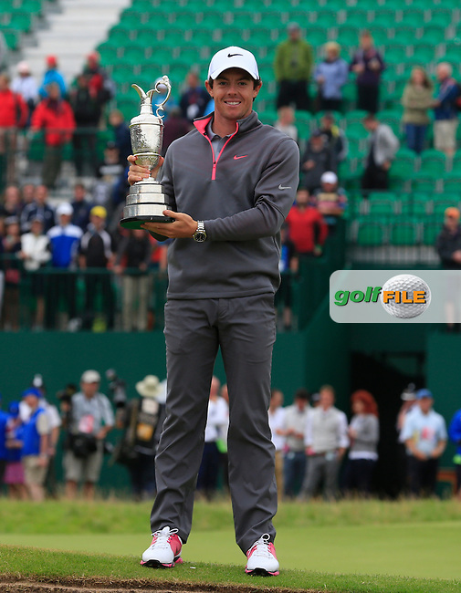 Rory MCILROY (NIR) is the 2014 Open Champion: <br />