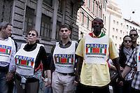 Milano 25-04-2013: corteo per ricordare il 25 aprile del 1945 giorno della liberazione dalla dittatura nazi-fascista