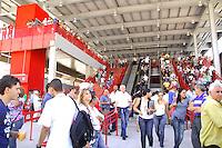 OSASCO, SP - 07.06.2012 - CPTM / ESTACAO OSASCO - Nesta quarta-feira (7), foi liberada uma parte da estacao Osasco da CPTM. (Foto: Renato Silvestre/Brazil Photo Press)