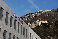 Vaduz castle, home to Liechtenstein's royal family, sits on a hill above one of the country's many banks. Liechtenstein has become a major tax haven, whose opaque banking laws are said to aid fraud, money laundering and tax evasion. There are an estimated 75,000 companies registered in the country, twice that of the population. .