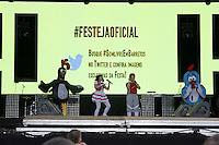 BARRETOS,SP, 24.08.2015 - BARRETOS-2015 - <br /> Apresenta&ccedil;&atilde;o Galinha Pintadinha durante show na 60&ordf; edi&ccedil;&atilde;o da Festa do Pe&atilde;o de Boiadeiro de Barretos, no interior de S&atilde;o Paulo, ontem, 23. (Foto: Paduardo/Brazil Photo Press)