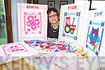 CRAFTY: Karen Pleass from Rathea who chose to pursue her love of embroidery when made redundant and has since established her own business.
