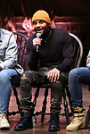 "Terrance Spencer during the eduHAM Q & A before The Rockefeller Foundation and The Gilder Lehrman Institute of American History sponsored High School student #EduHam matinee performance of ""Hamilton"" at the Richard Rodgers Theatre on November 13, 2019 in New York City."