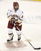 Tim Filangieri (BC - 5) - The Boston College Eagles defeated the visiting Northeastern University Huskies 7-1 on Friday, March 9, 2007, to win their Hockey East quarterfinals matchup in two games at Conte Forum in Chestnut Hill, Massachusetts.