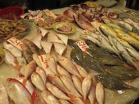 Fish stall, Hong Kong