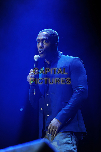 LONDON, ENGLAND - December 11: Simon Webbe of Blue performs in concert at the o2 Arena on December 11, 2013 in London, England<br /> CAP/MAR<br /> &copy; Martin Harris/Capital Pictures
