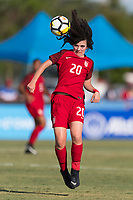 Bradenton, FL - Sunday, June 12, 2018: Sophie Jones during a U-17 Women's Championship Finals match between USA and Mexico at IMG Academy.  USA defeated Mexico 3-2 to win the championship.