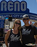 Rasa and Jesse during the Great Eldorado BBQ, Brews and Blues Festival in Reno, Nevada on Saturday, June 16, 2018.