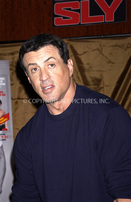 WWW.ACEPIXS.COM . . . . . ....NEW YORK, MARCH 8, 2005....Sylvester Stallone signs copies of his new magazine 'Sly' at the Hudson Newstand in Grand Central Station.....Please byline: KRISTIN CALLAHAN - ACE PICTURES.. . . . . . ..Ace Pictures, Inc:  ..Philip Vaughan (646) 769-0430..e-mail: info@acepixs.com..web: http://www.acepixs.com