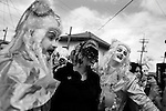 February 05, 2008. New Orleans, LA.. Mardi Gras day in New Orleans on the 2nd Mardi Gras since Hurricane Katrina devastated the city.