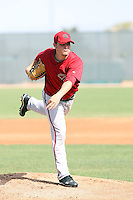 Wade Miley, Arizona Diamondbacks 2010 minor league spring training..Photo by:  Bill Mitchell/Four Seam Images.