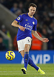 Jonny Evans of Leicester City during the Premier League match against Everton at the King Power Stadium, Leicester. Picture date: 1st December 2019. Picture credit should read: Darren Staples/Sportimage