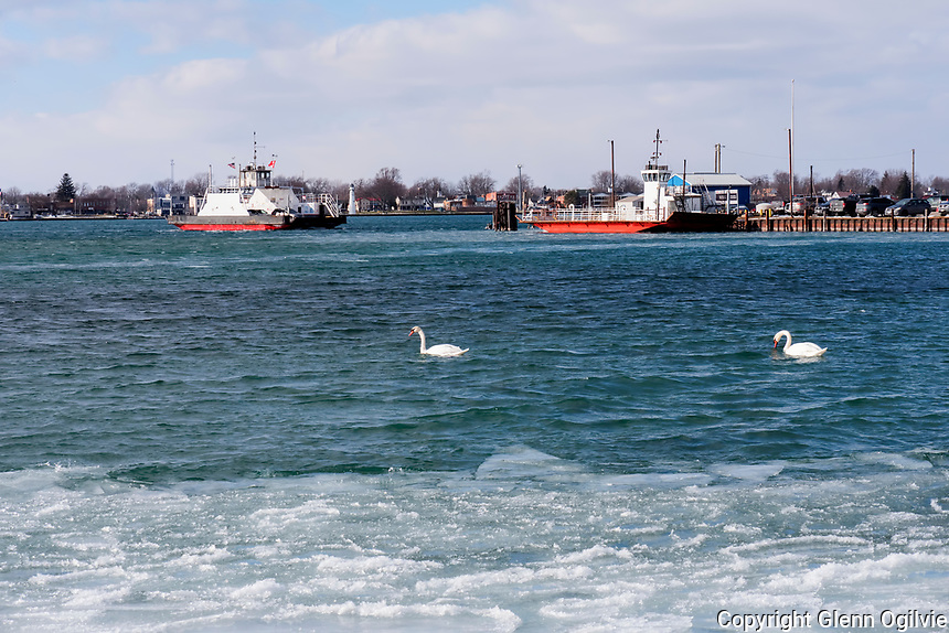 St. Clair River at Sombra Ferry