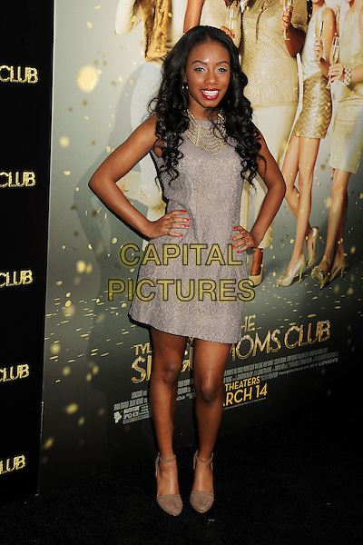 10 March 2014 - Hollywood, California - Imani Hakim. &quot;The Single Moms Club&quot; Los Angeles Premiere held at Arclight Cinemas. <br /> CAP/ADM/BP<br /> &copy;Byron Purvis/AdMedia/Capital Pictures