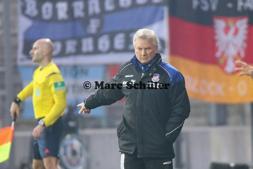 Trainer Benno Möhlmann (FSV) - FSV Frankfurt vs. 1. FC Kaiserslautern, Frankfurter Volksbank Stadion